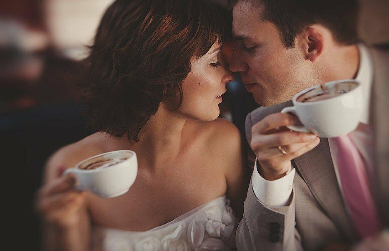 Картинки девушка кофе и мужчина