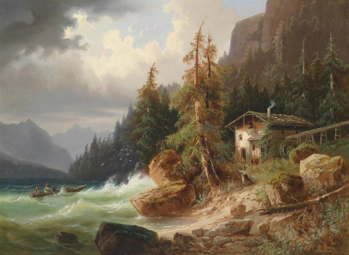 Живописные картинки известных художников