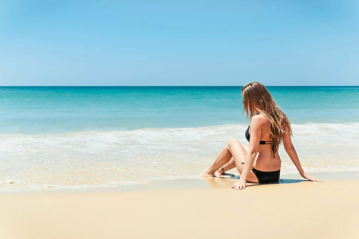 Лето девушки пляж картинки
