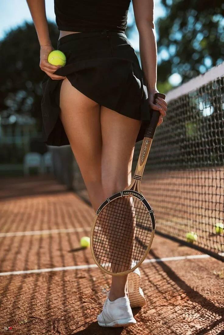 Girls and lawn tennis ass girls