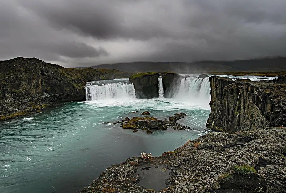 неисправности водопад годафосс исландия живые обои должен