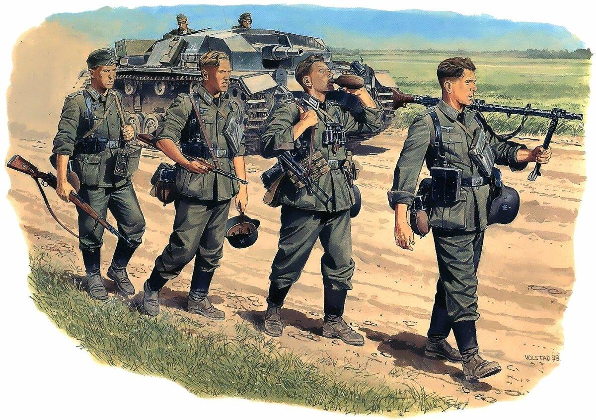 Немецкая пехота картинки