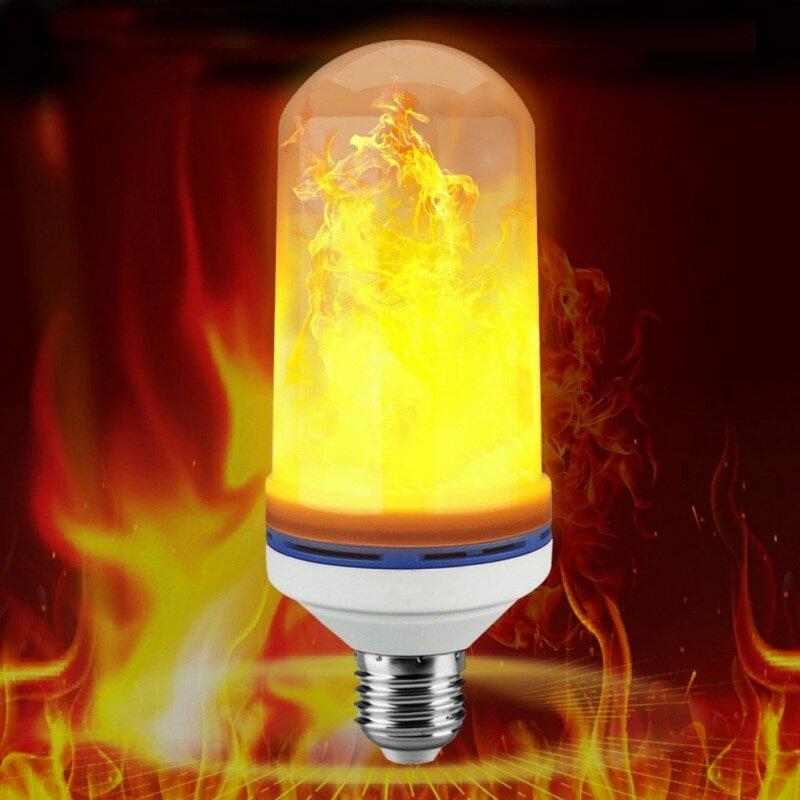 Лампа LED с эффектом пламени в Нальчике