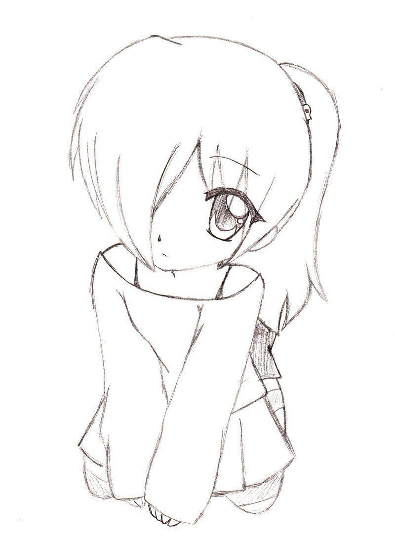 Картинки для срисовки прикольные аниме, поздравление
