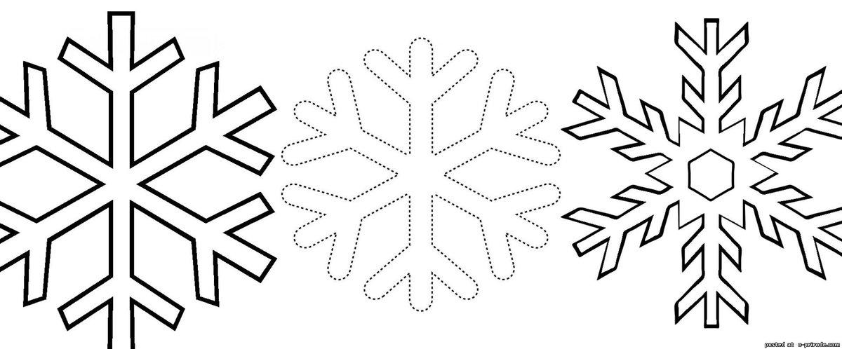 Новогодние снежинки картинки для распечатки на окна, словами прости