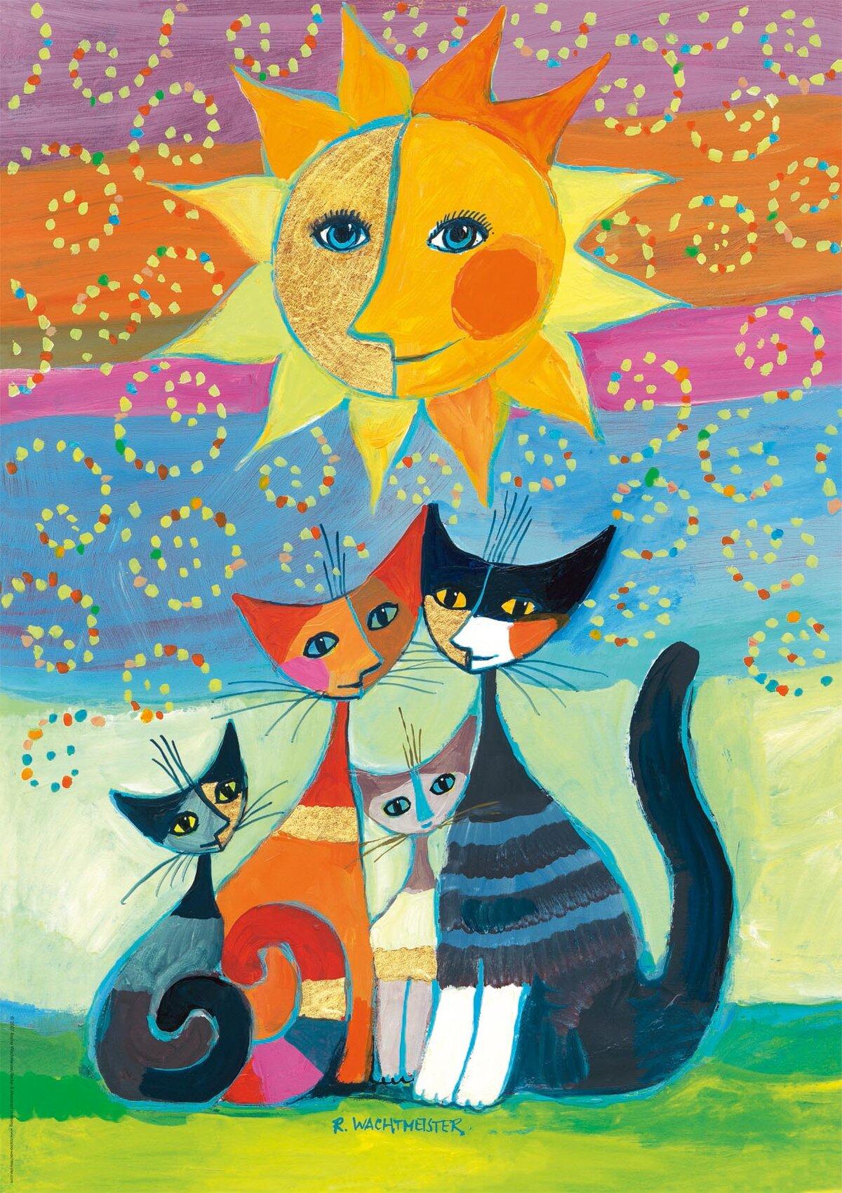 всем рисунок мир котов американский