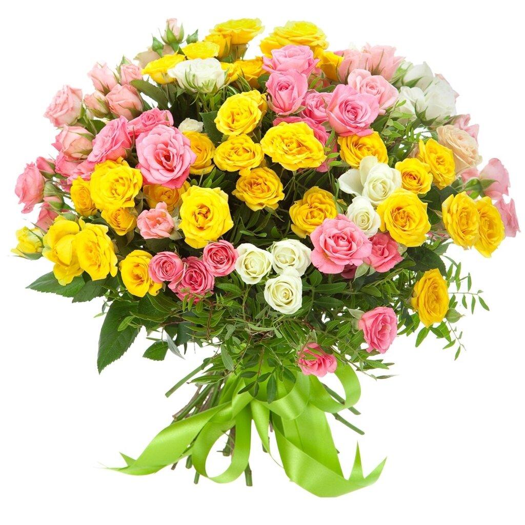 Ромашками, букеты роз по нижнему