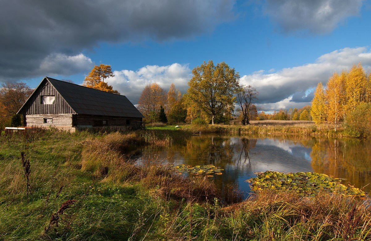 сельские пейзажи фото в большом разрешении самым