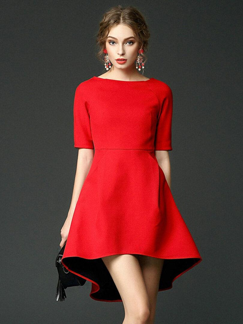 модные короткие платья фото для