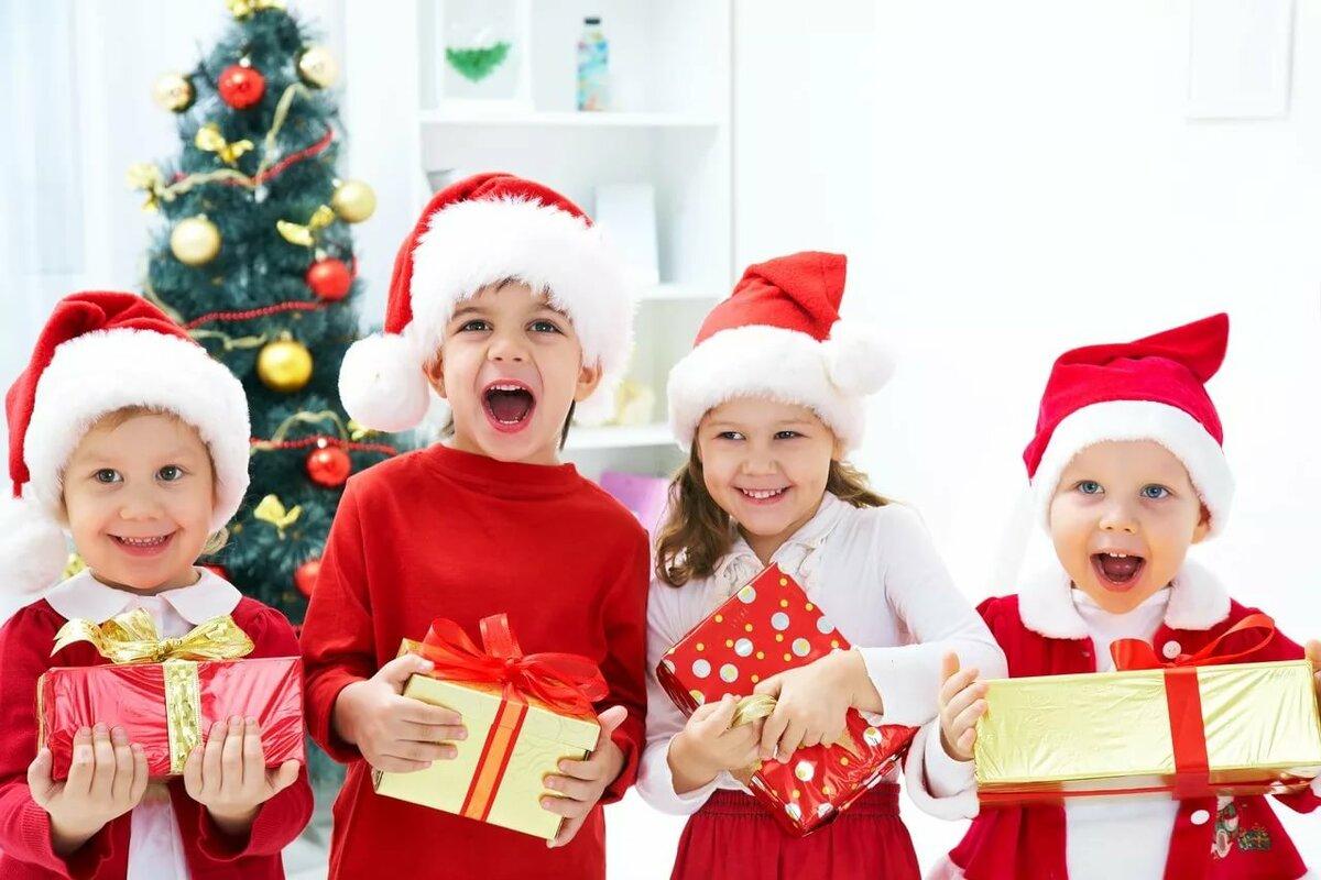 Картинки новый год и дети