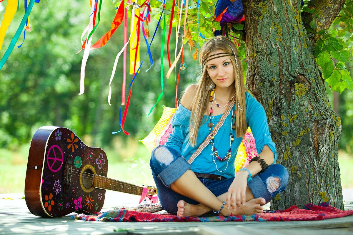 Hippie girl 10