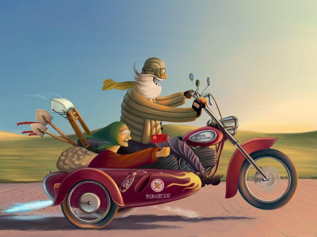 Школьных, картинки прикольные на мотоцикле