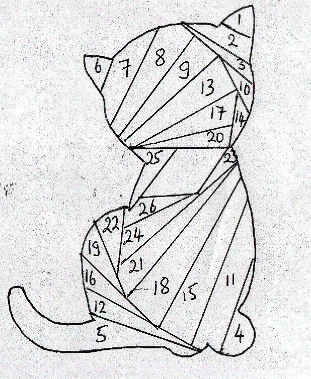 Для любимой, картинки айрис фолдинг схемы шаблоны