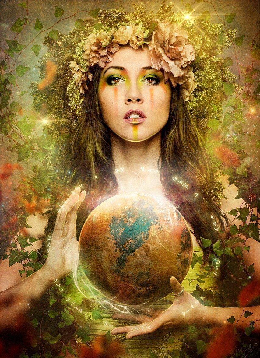 Картинки с женским днем планета