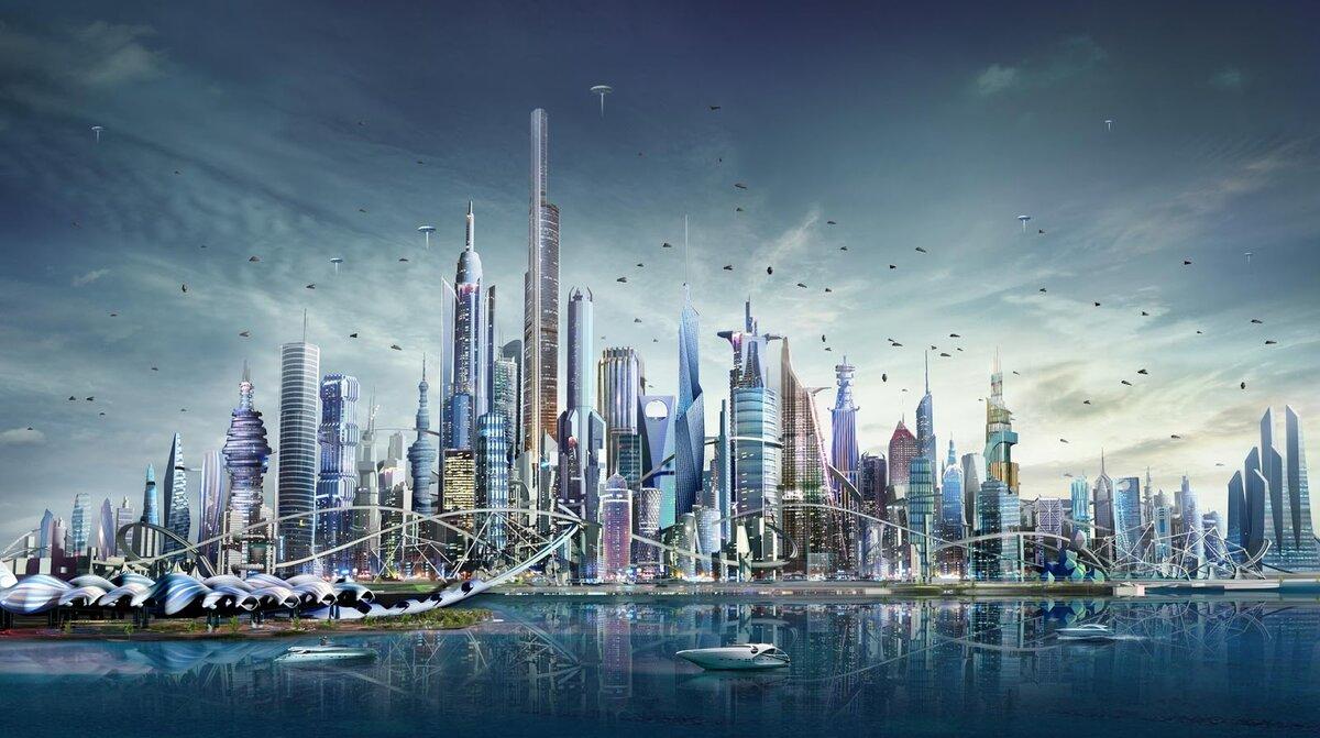 комплексе смотреть картинки города в будущем человеку