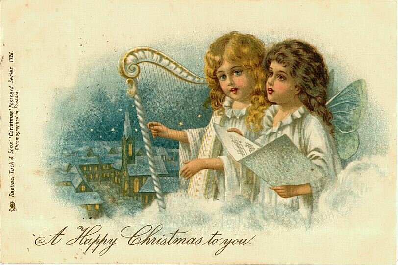 Днем внутренних, картинки с рождеством христовым ретро