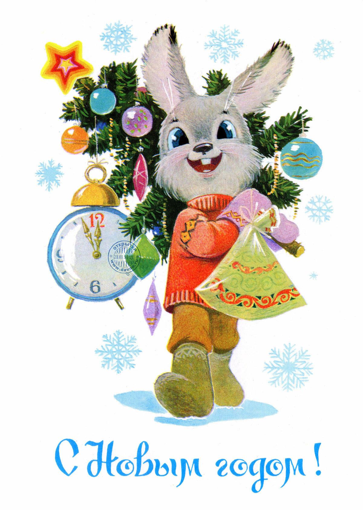 Пожелания на новый год зайца