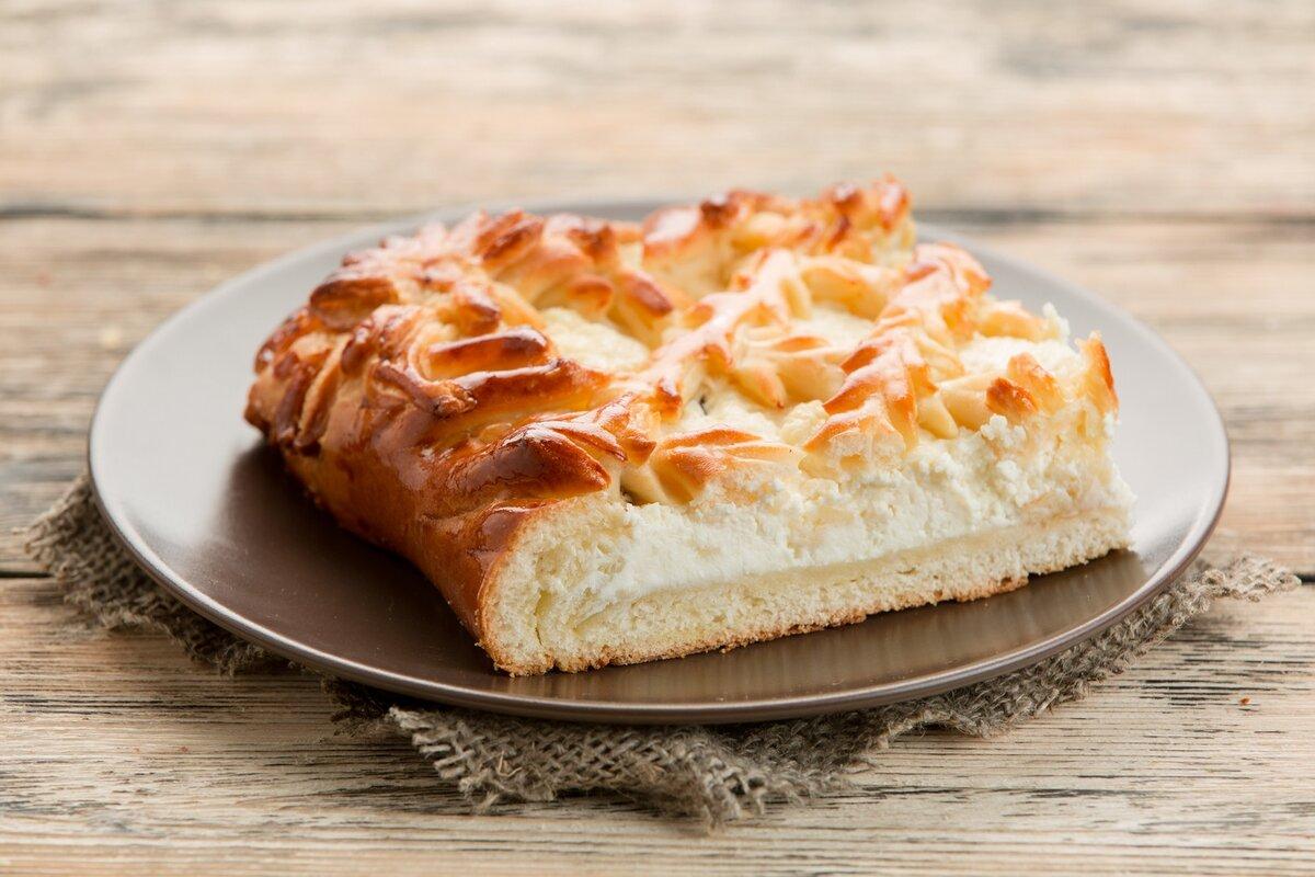 пироги из творога рецепты с фото этом снимке
