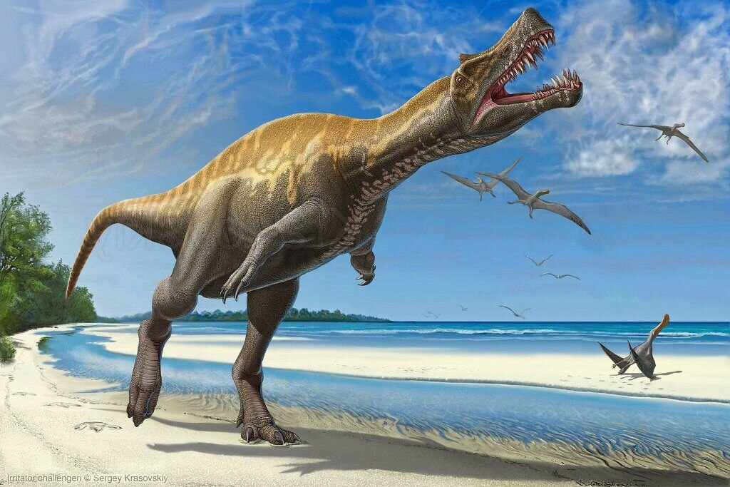 Виды динозавров в картинках хищники