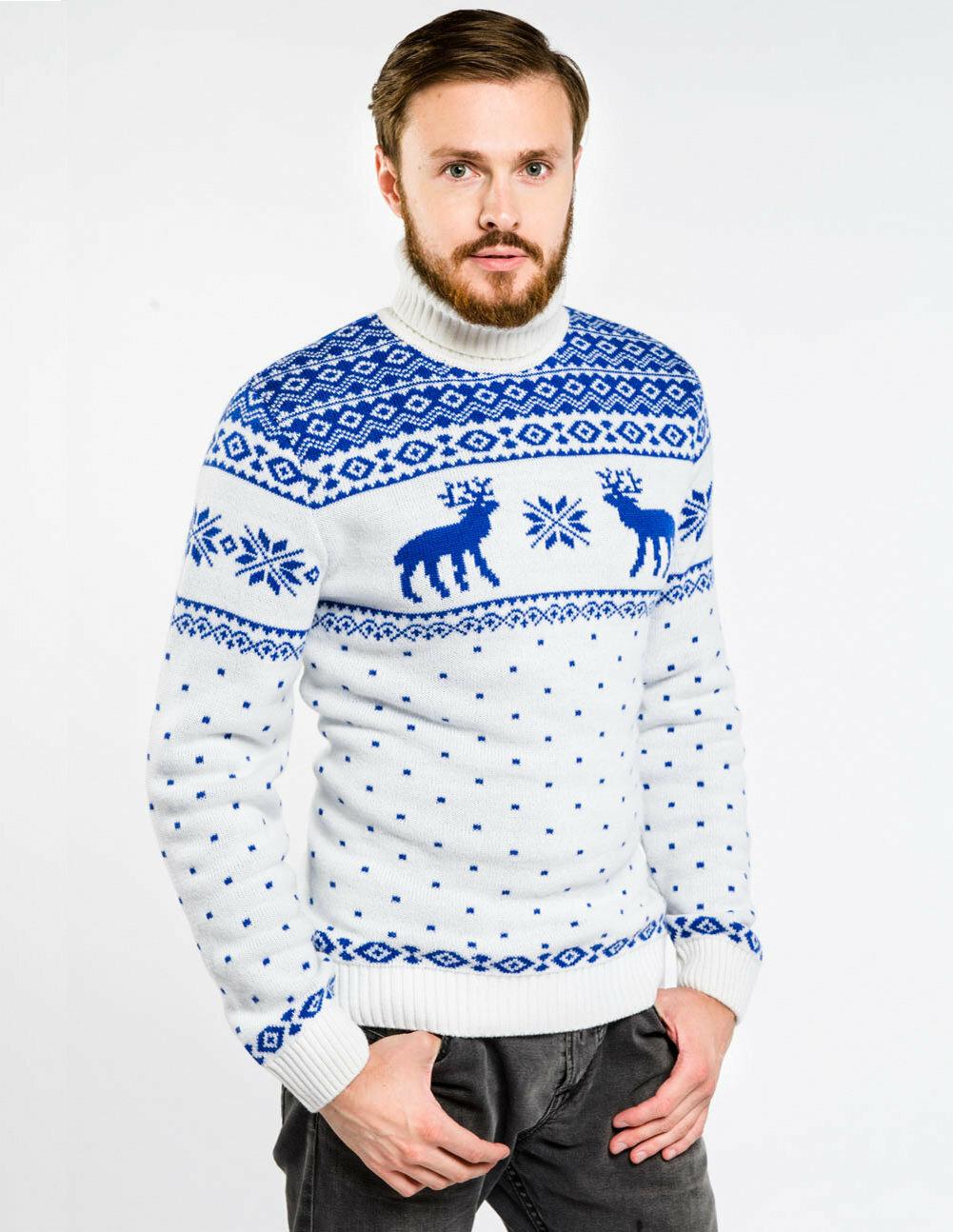 свитер с оленями купить в спб
