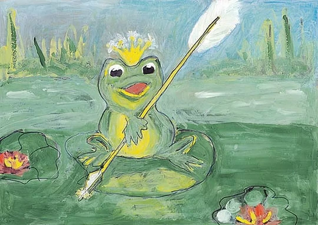 Про лягушку царевну картинки