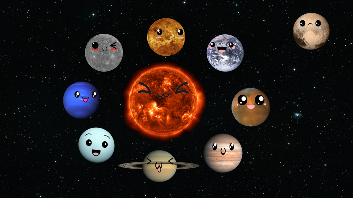 Картинки планеты смешные, картинки