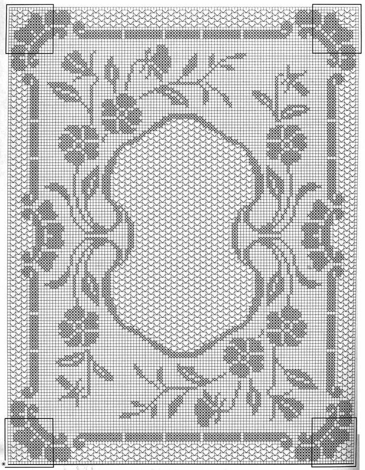 филейное вязание салфетка с картинкой подобрала обзоре регулярные