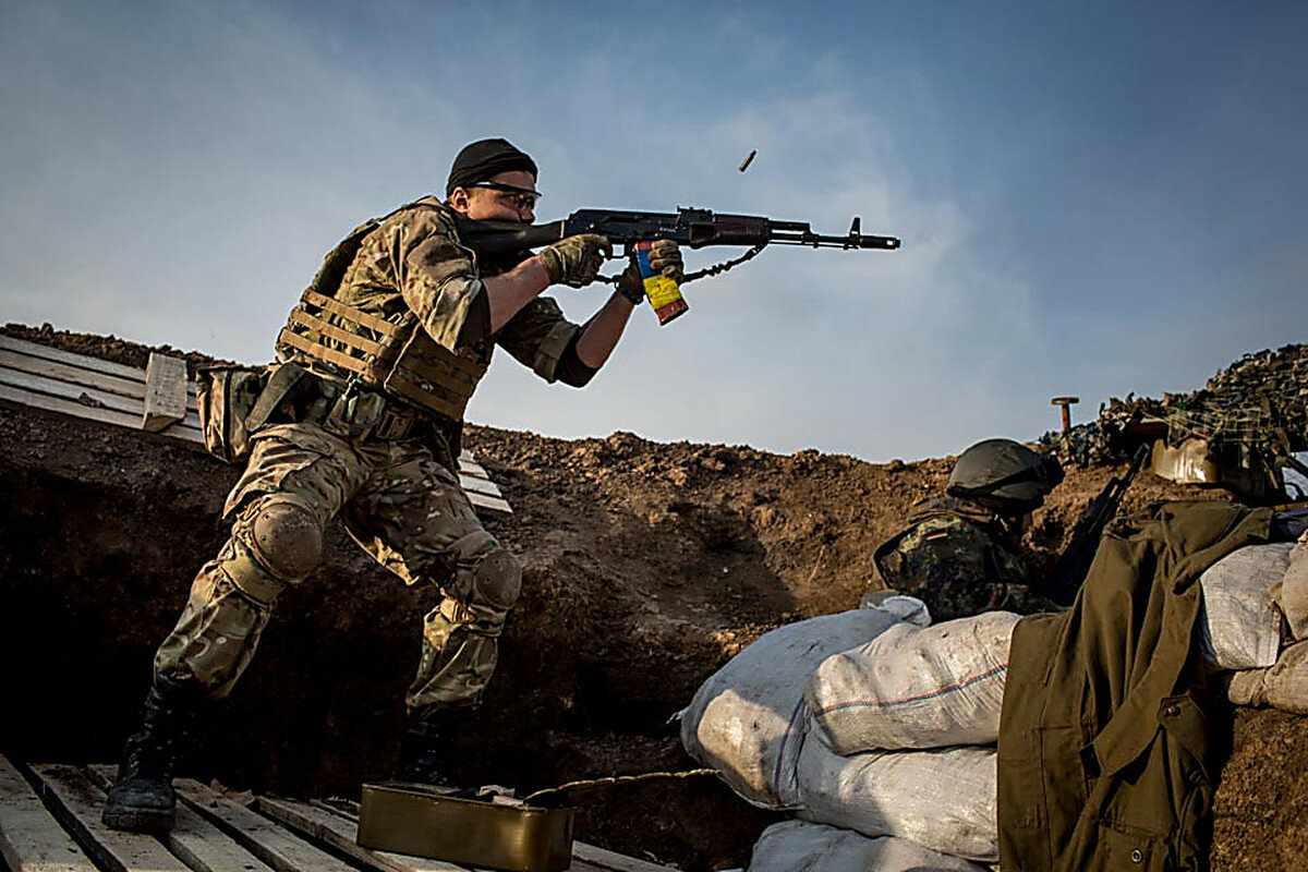 Бои на украине картинки