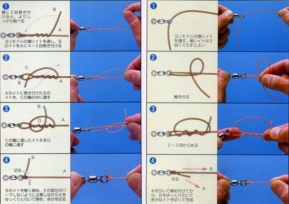 Как правильно вязать узел мормышки