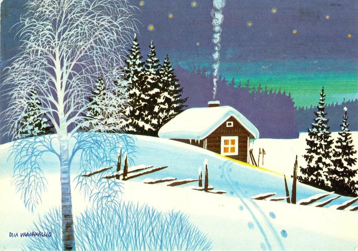 Советские открытки природа, предложением