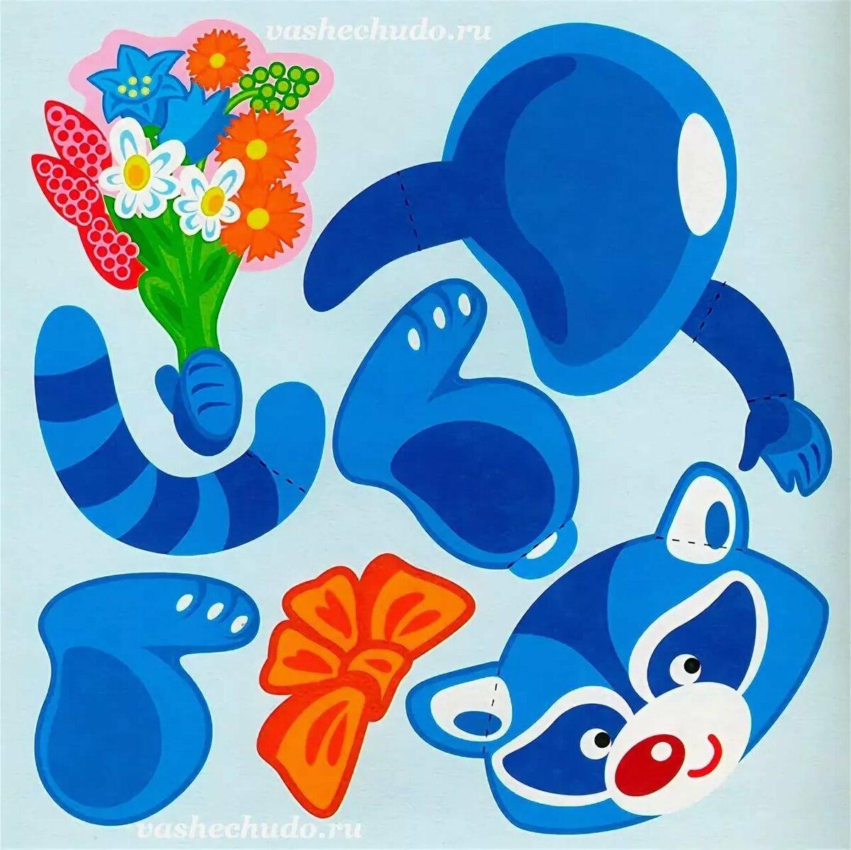 Картинки, шаблоны детских открыток с 8 марта