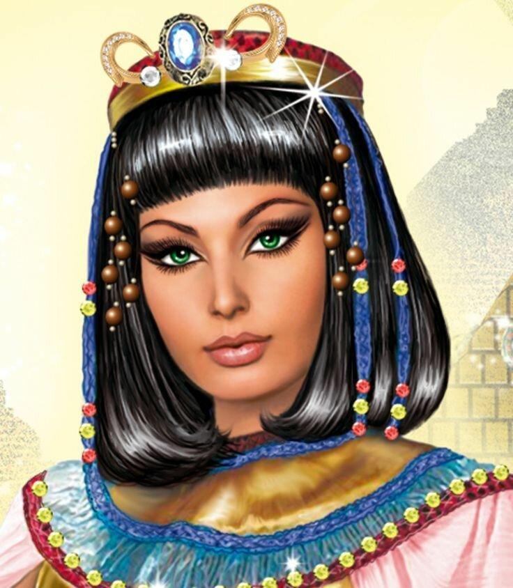 Картинка клеопатра египет