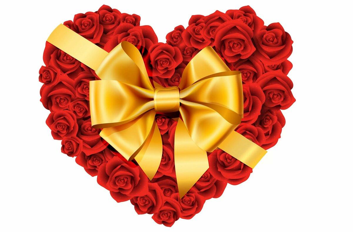 Красивые открытки в виде сердечка