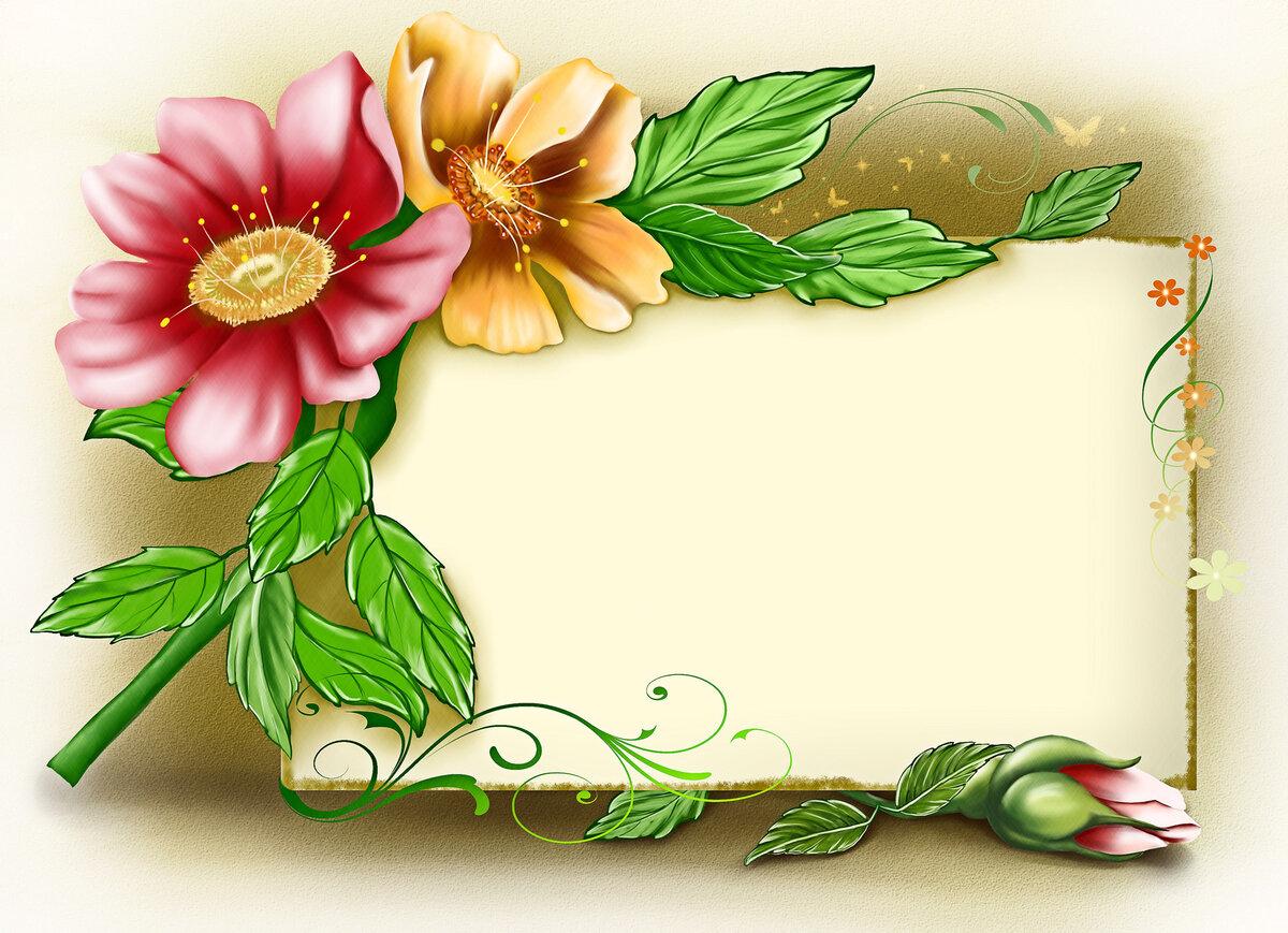 Презентация открытка с цветами, днем рождения
