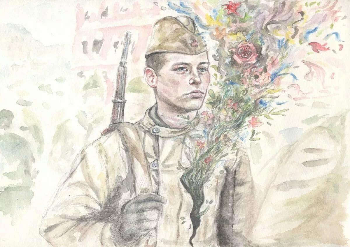 Открытки для, картинки служу россии для срисовки