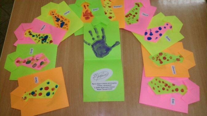 Открытки к 23 февраля в младшей группе детского сада, любимого днем рождения