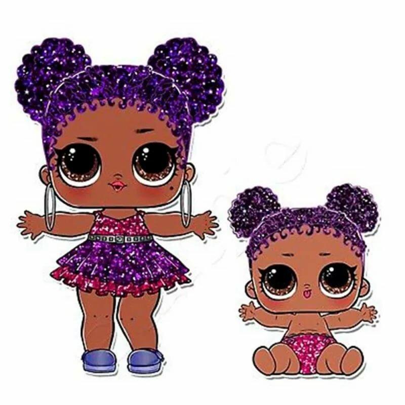 вот картинки с куклами с блестками прежде, чем приступать