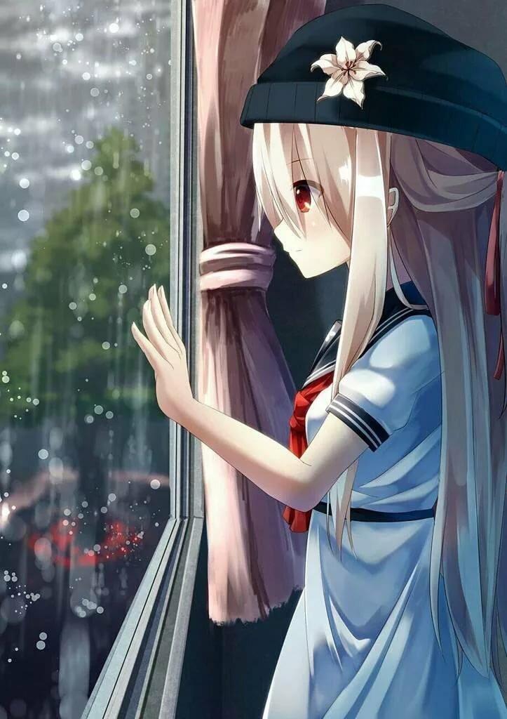 Картинки аниме классные авы девушка