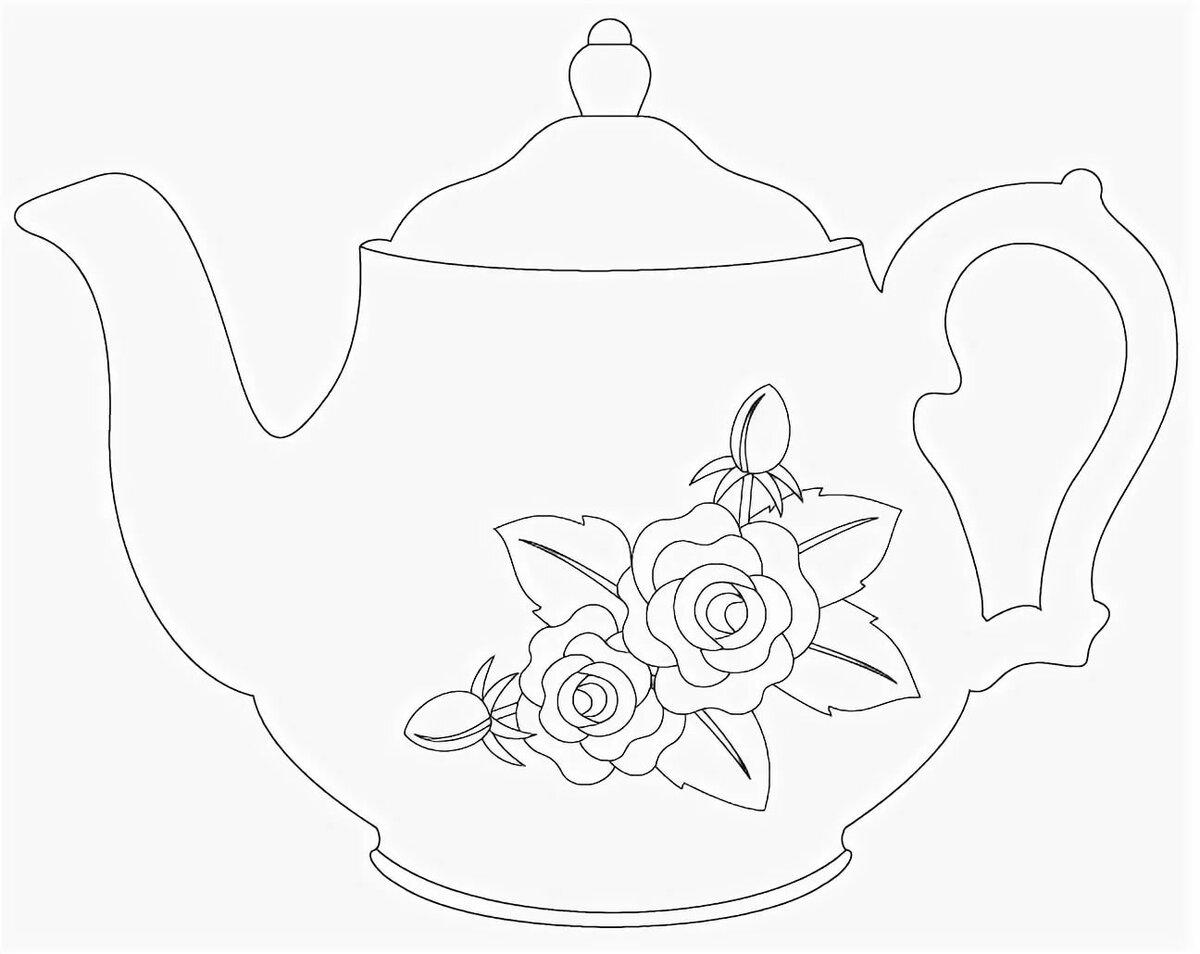 Год картинки, открытки своими руками чайник