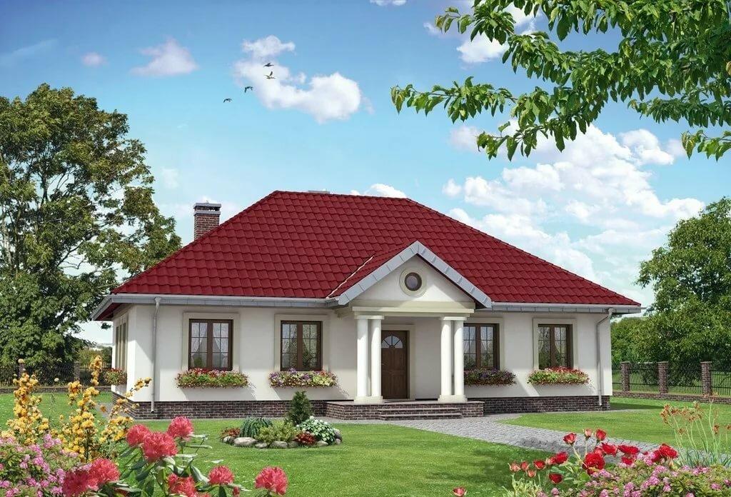 дома фасады одноэтажные очень красивые фото образом