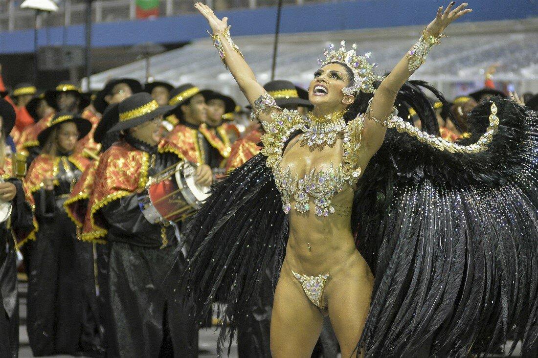 бразильянки на карнавале без бикини фото