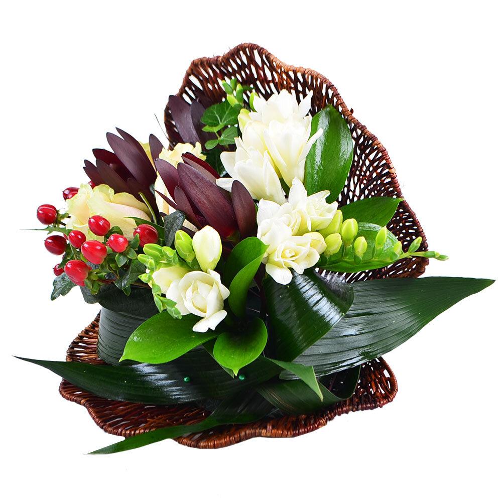 Оригинальные букетики из цветов, цветов спб астана