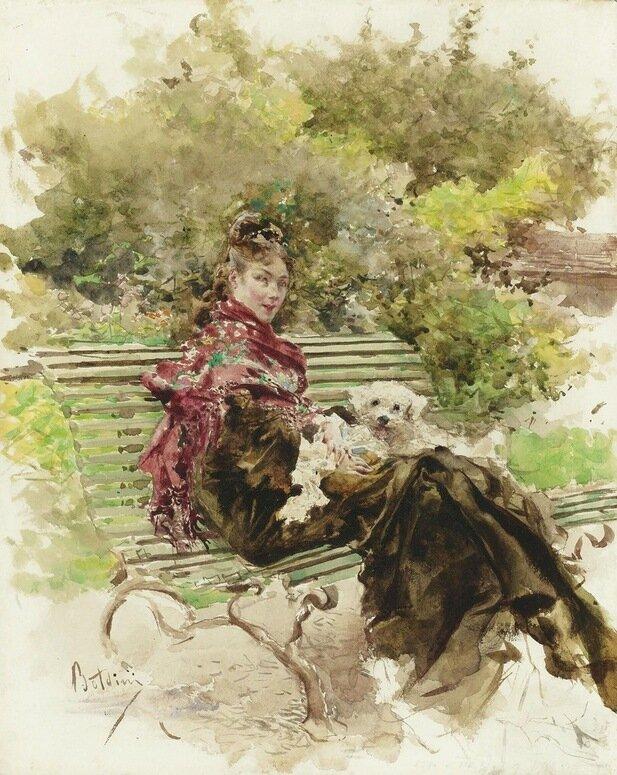Живопись на открытках 19 века