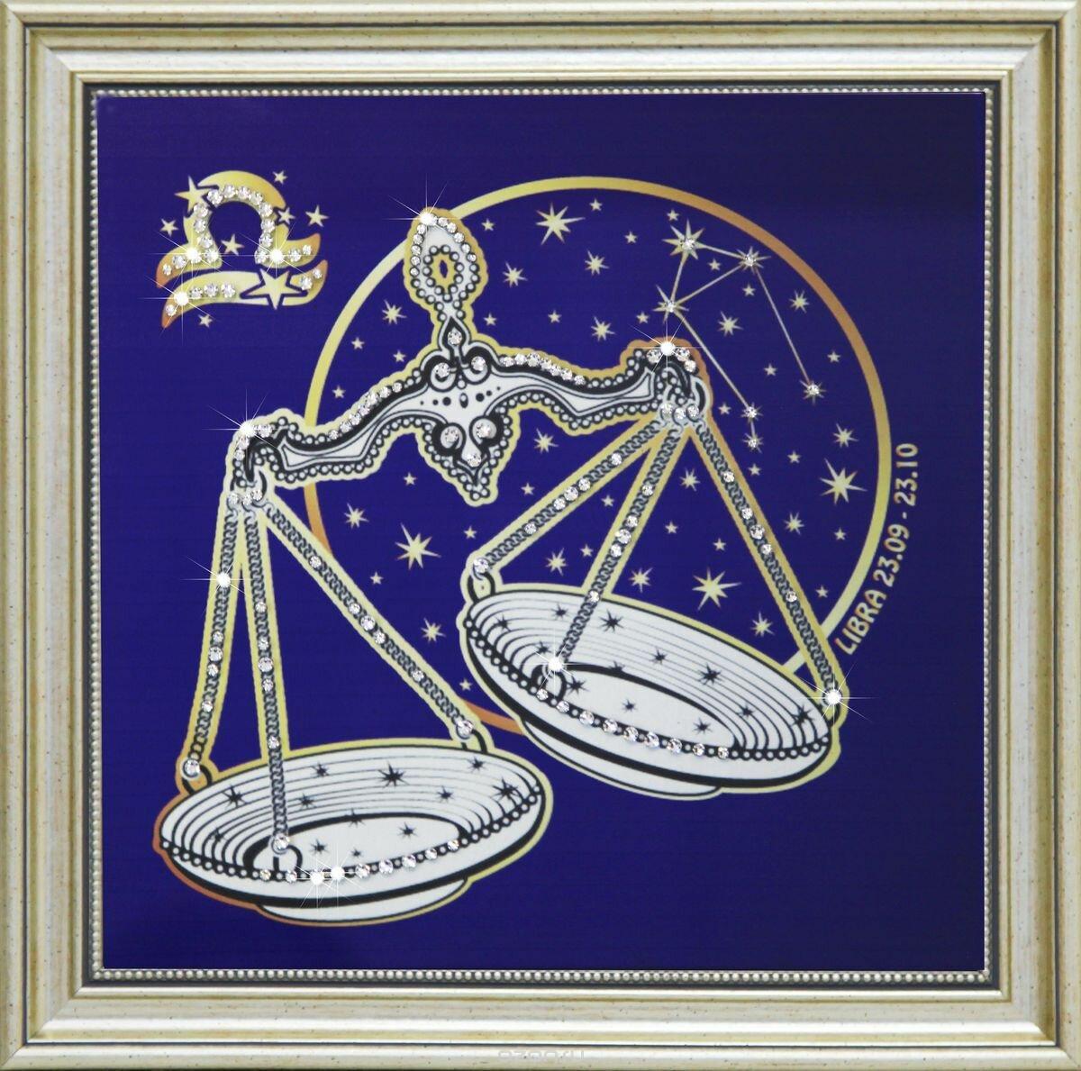 Женский, открытка со знаками зодиаками