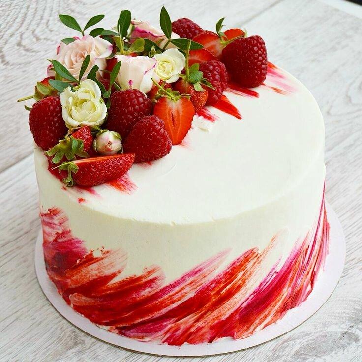 Красивых, картинки на торте