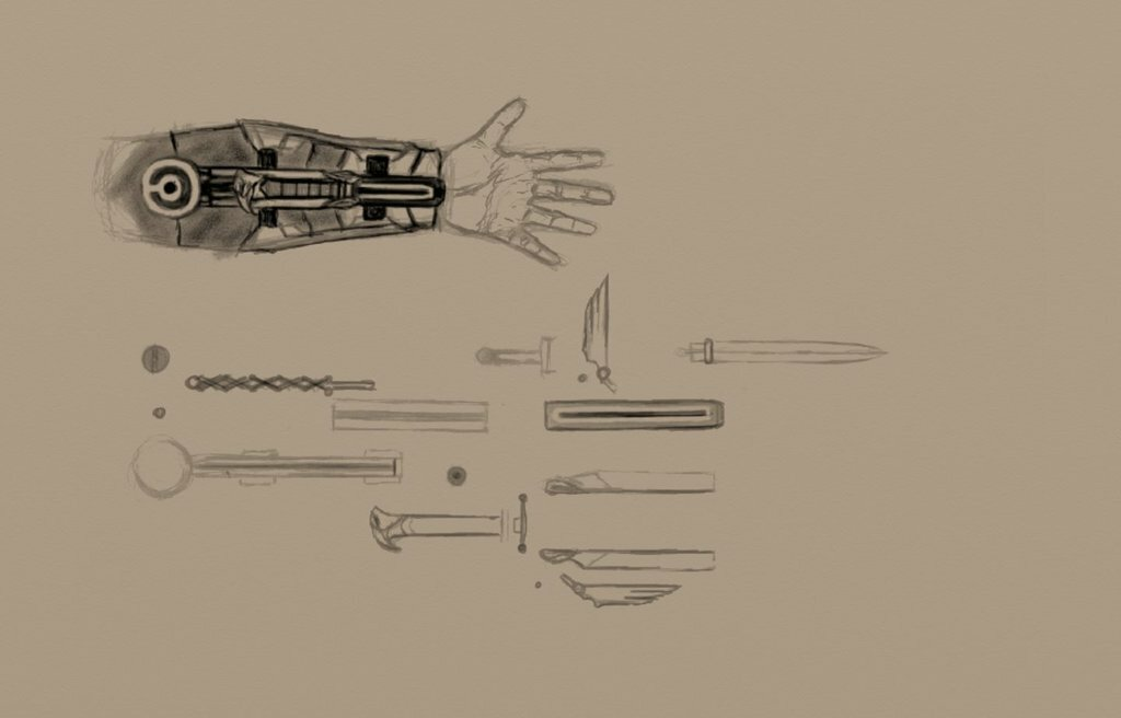 Как сделать клинок ассасина из картона видео — img 15