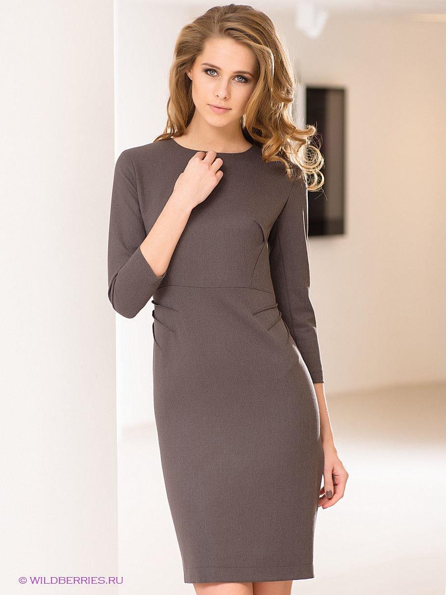 платье с длинным рукавом фото классика нашей статье