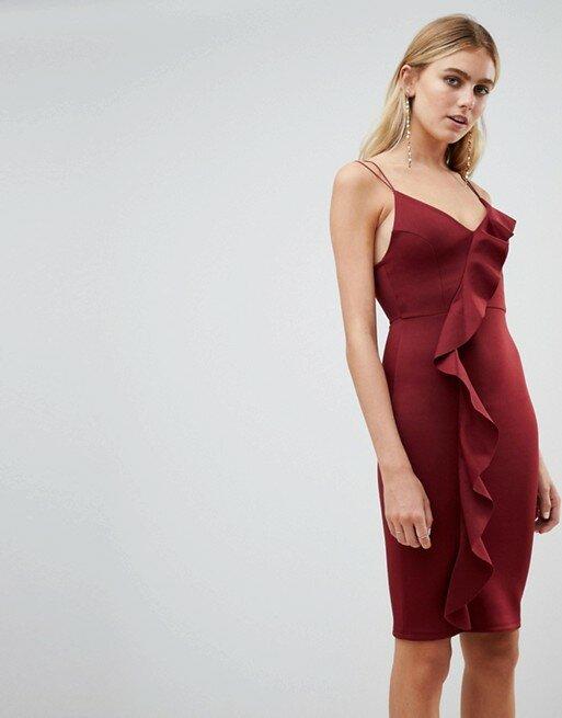 a925a4141bdfa 39 карточек в коллекции «Женское платье цвета марсала: образы ...