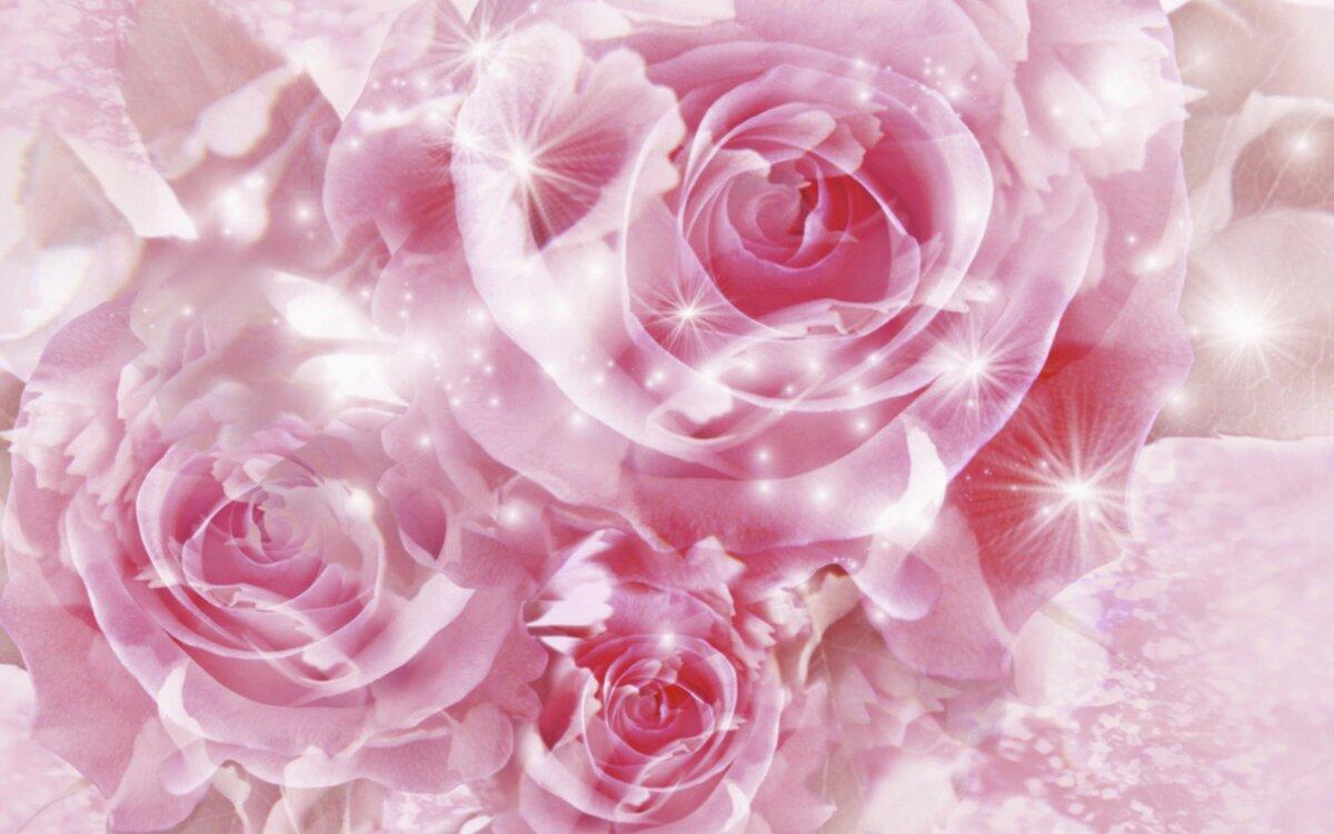 Открытка с днем рождения 3д цветы