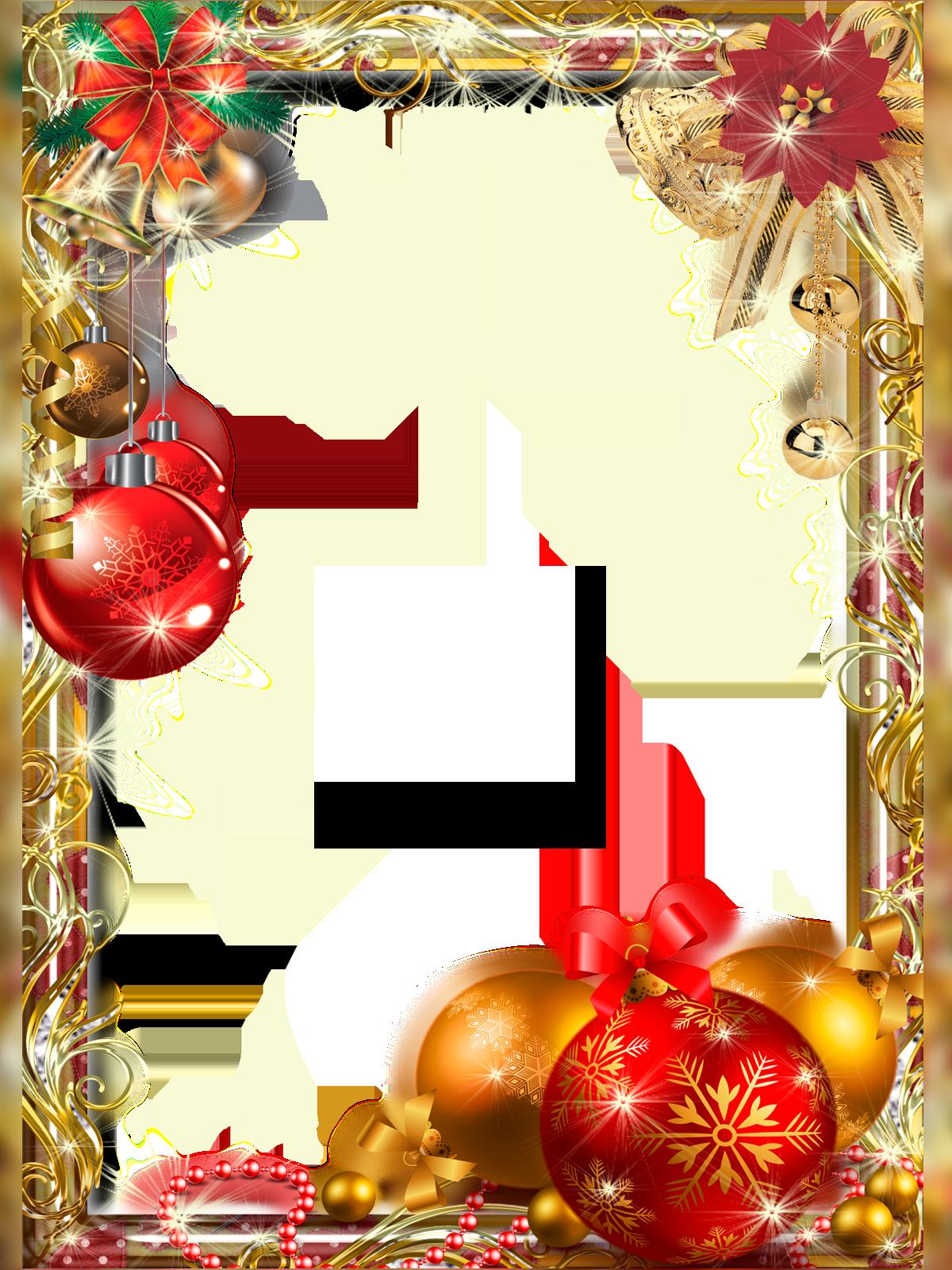 Шаблоны для фотографий новогодние